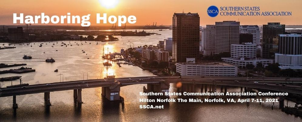 2021 SSCA Convention Banner Harboring Hope